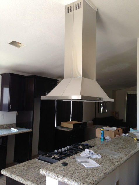 Kitchen draft hood if your cooktop is in an island you need a draft hood still there are several options you can get a solid stainless steel draft hood to preserve that sciox Choice Image